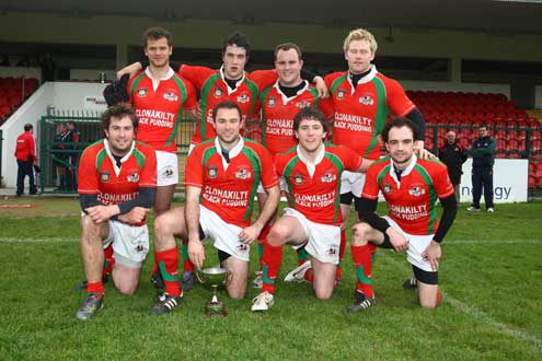 Clonakilty - Plate Winners at the IRFU Club Sevens in Munster