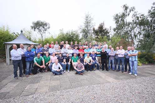 The delegates at the IRFU National Conference