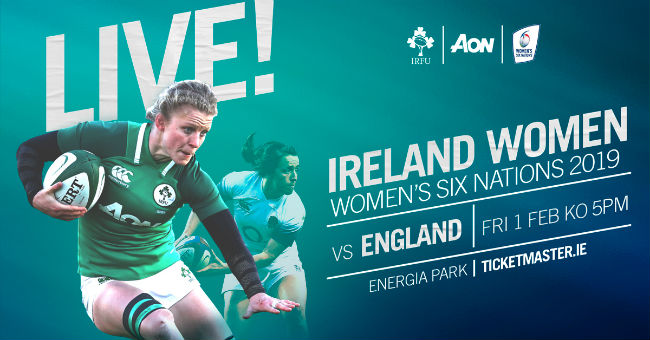 Buy tickets for Ireland Women v England Women in Energia Park
