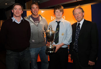 Tyrone Howe, Stephen Ferris, Michael Carson and Brian Irwin