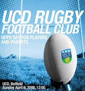 UCD Rugby Open Day