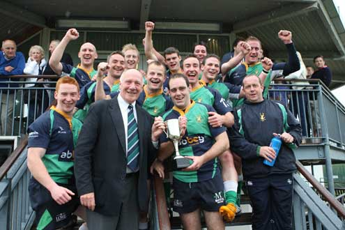 Ballynahinch - Plate Winners in the IRFU Club Sevens Ulster Championship