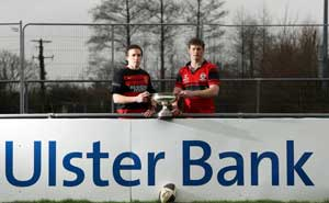 Monivea v Tullamore in the Ulster Bank All Ireland Junior Cup