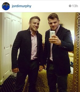 Jordi Murphy and Ian Madigan