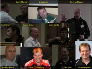 Keynote speakers at the IRFU Symposium