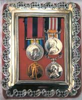 Myles Abraham's Military Medals