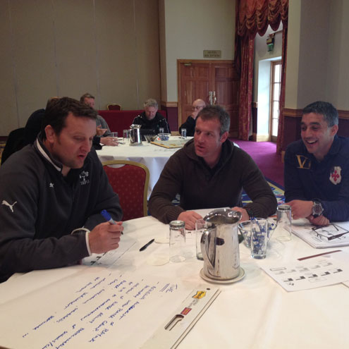 Attendees at the Age Grade Coaching Conference