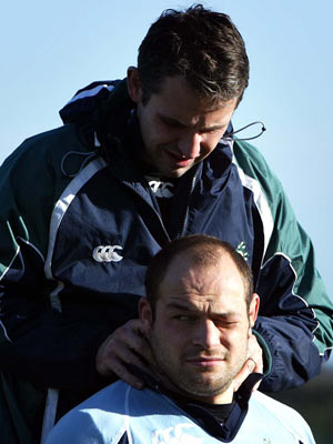 Cameron Steel Rory Best