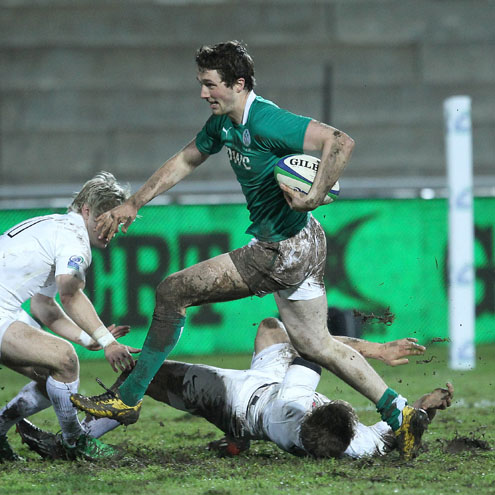 Barry Daly was a threat for Ireland in the first half