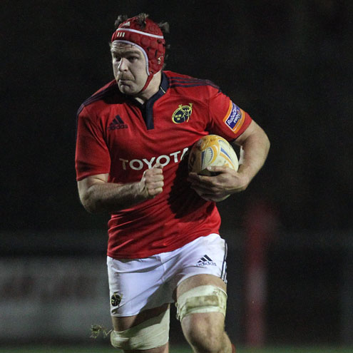 Billy Holland captained Munster 'A' to victory