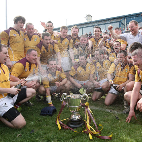 Bruff are now the Munster and All-Ireland Cup champions