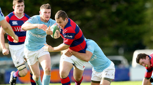 Bryan Byrne came off the bench to score for Clontarf