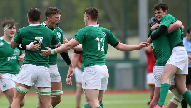 Ireland U-18 Schools Side End Series With Stunning Caerphilly Comeback