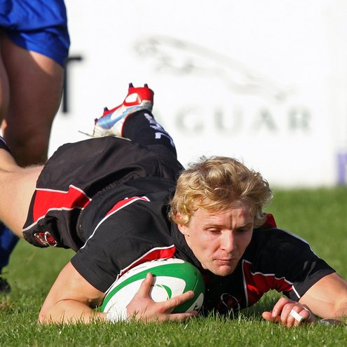 Chris Cochrane scored a brace of tries for Ulster Ravens