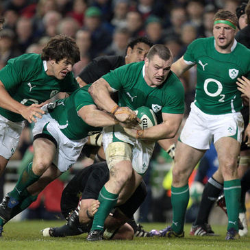 Cian Healy in action against New Zealand last weekend