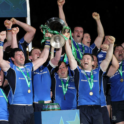 Leinster were crowned Heineken Cup champions for the second time