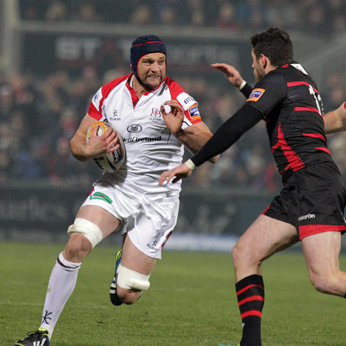 Ulster replacement lock Dan Tuohy