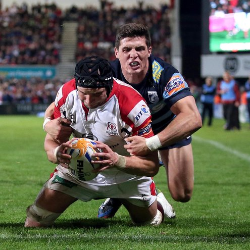 Dan Tuohy scored two tries for the Ulstermen