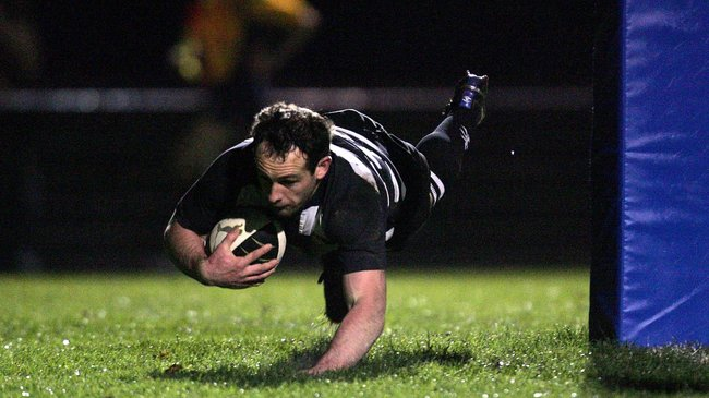 Daniel Riordan scored the levelling try for 'Belvo