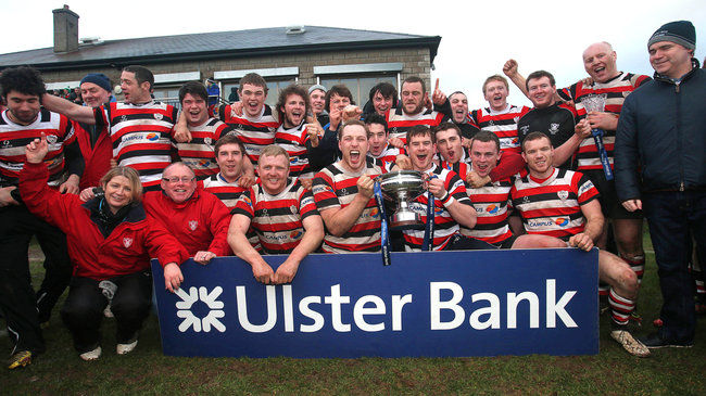 Enniscorthy celebrate their Junior Cup success