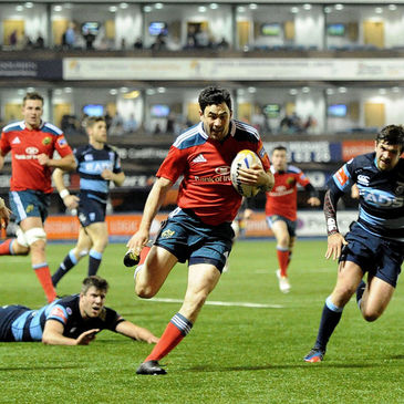 Felix Jones was one of Munster's try scorers in Cardiff