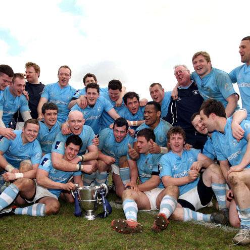 Garryowen triumphed at Templeville Road