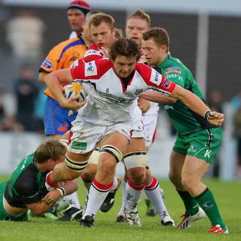 Man-of-the-match Iain Henderson in action for Ulster