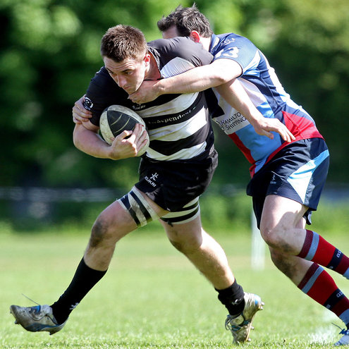 Back rower Jack Conan was one of 'Belvo's try scorers