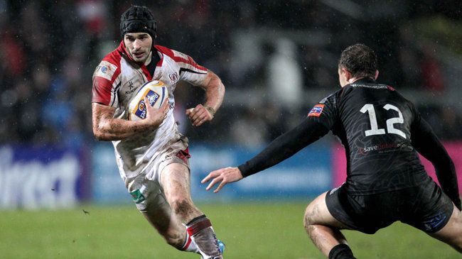 Ulster out-half James McKinney