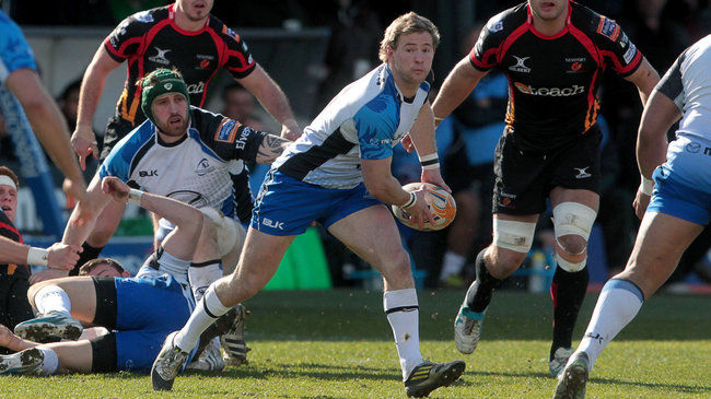 Kieran Marmion in action for Connacht