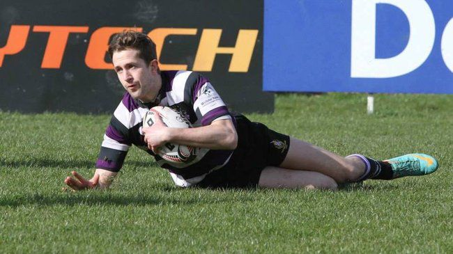 Mark O'Neill was one of Terenure's try scorers