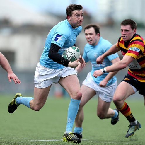 Garryowen out-half Matt Jarvis