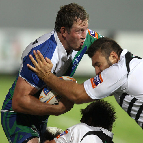 Second row Michael Swift in action for Connacht