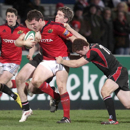 Hooker Mike Sherry leads the charge for Munster 'A'