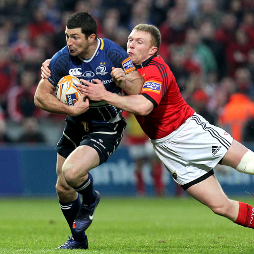 Rob Kearney was one of Leinster's leading lights in Limerick