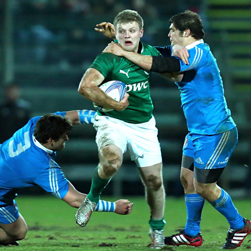 Ireland Under-20 out-half Steve Crosbie