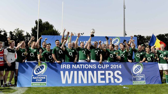 Dominic Ryan captained Emerging Ireland to the Nations Cup title