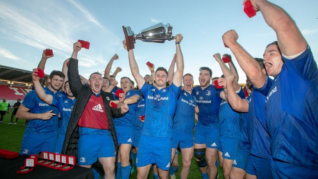 Kelleher Double Drives Leinster 'A' To Celtic Cup Title Win