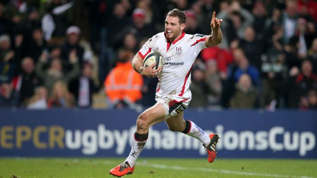 Cave Hat-Trick Helps Ulster Tame Tigers