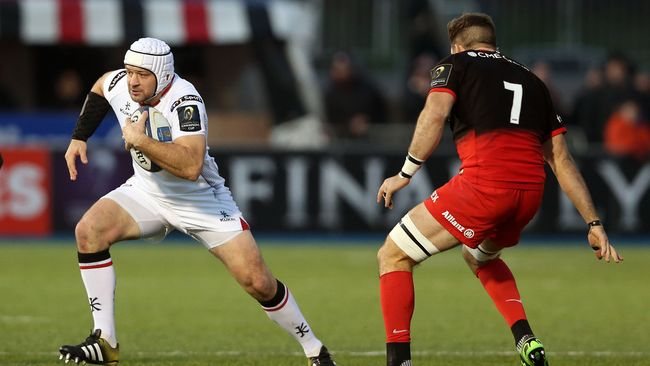 Ulster Succumb To Four-Try Saracens In Second Half