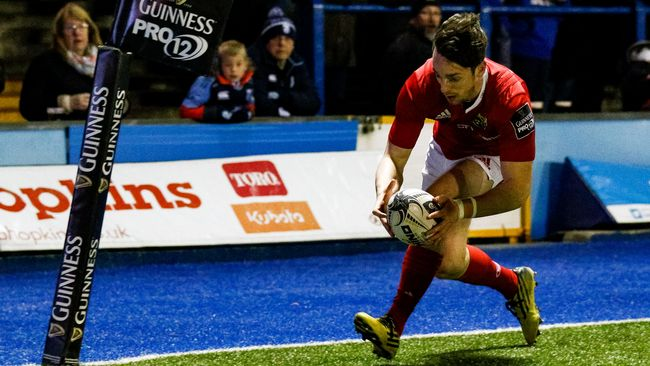 Munster's Play-Off Hopes Take A Hit In Cardiff