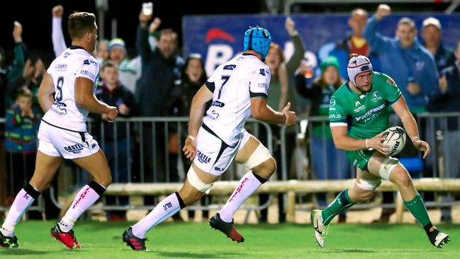 Ospreys Punish Connacht With Clinical Four-Try Display