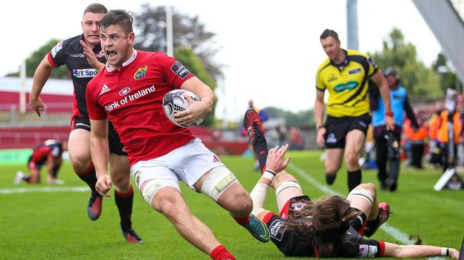 Bonus Point Reward For Munster In Thomond Opener