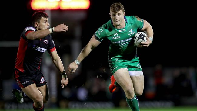 Robb Try Completes Bonus Point Win For Connacht