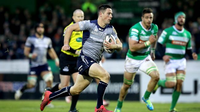 Connacht Collect Seven Tries In Bonus Point Win Over Treviso