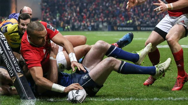 Munster Win Festive Derby To Move Five Points Clear