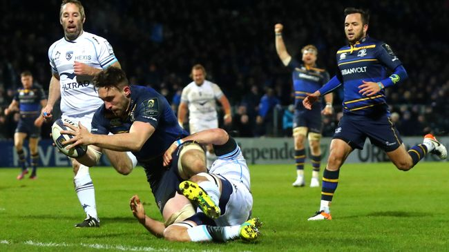 Conan Claims Hat-Trick As Leinster Sweep Montpellier Aside