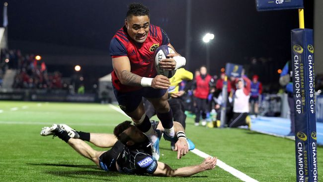 Saili Try Sends Munster Through To Last-Eight As Pool Winners