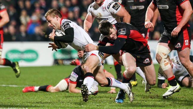 Four-Try First Half Lays Foundations For Encouraging Ulster Win