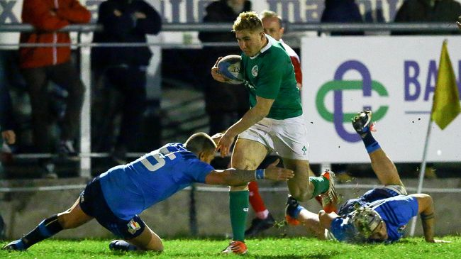 Three Tries Prove Just Enough For Ireland Under-20s